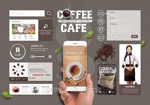 COFFEE UI SET