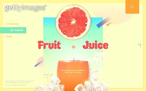 Fruitjuice web template