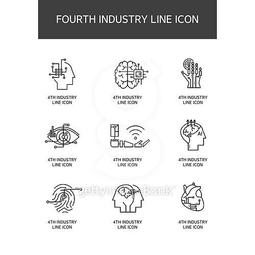 4차산업 아이콘