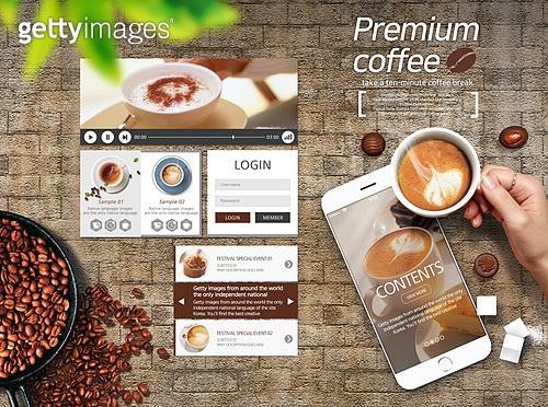 커피 웹/모바일