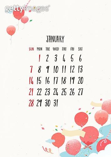 2018, Calendar