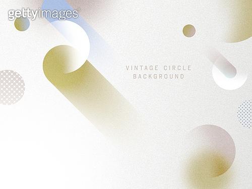 Vintage Circle Background