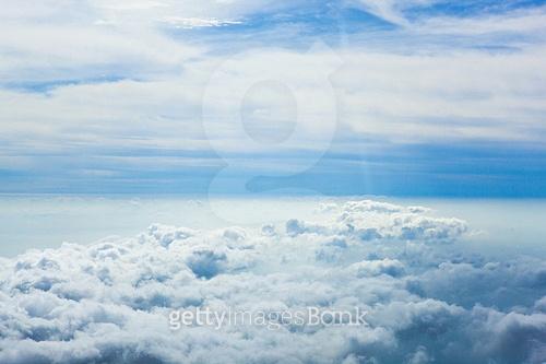 하늘, 구름, 바다