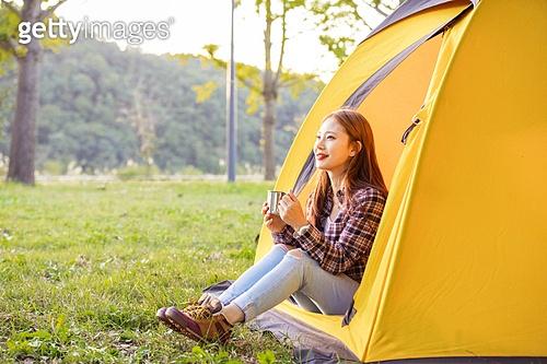 혼자 캠핑