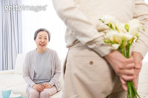 행복한 노년부부
