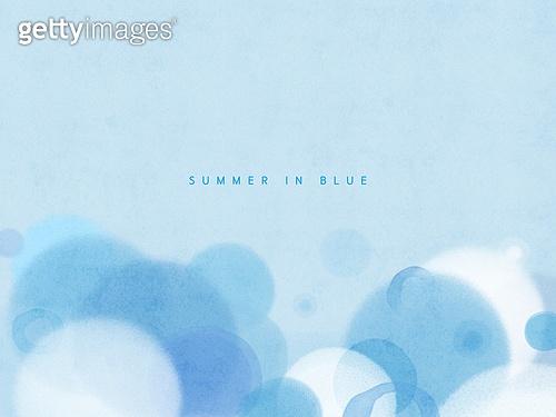 Summer in blue