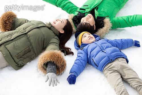 겨울 가족여행