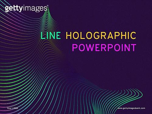 홀로그램 라인 PPT_1