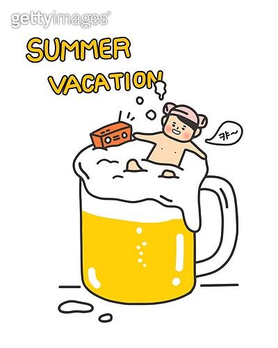 여름이 왔어요