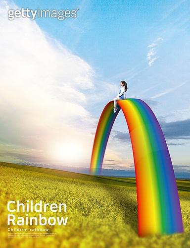 Children Rainbow