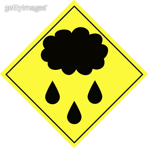 Weather warning sign 2