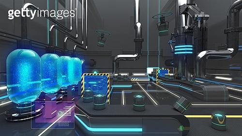 생산 설비 3D