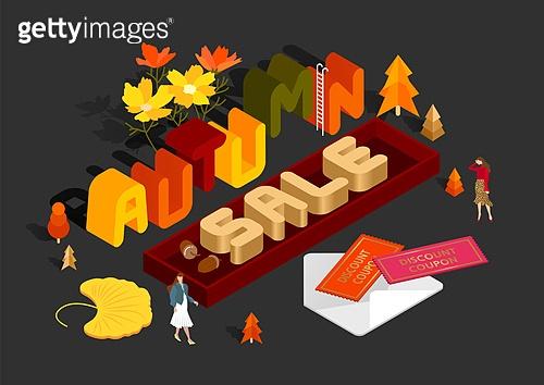 가을쇼핑 타이포