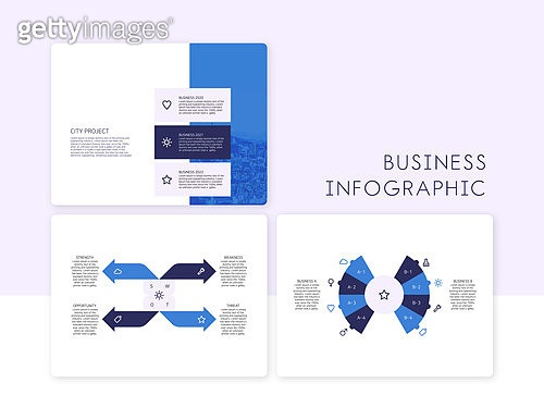 비즈니스 인포그래픽