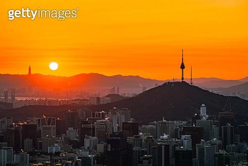 2020, 서울 일출