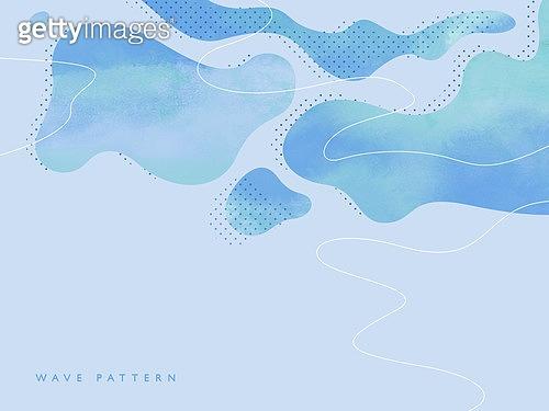 물결 패턴