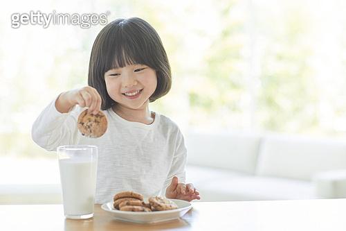 간식 먹기