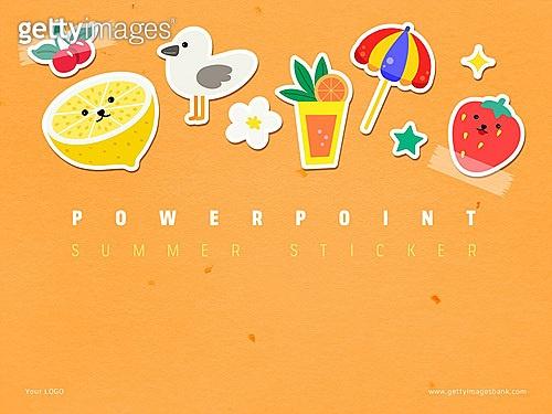 여름스티커 PPT_1