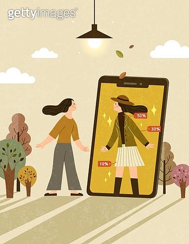 가을 모바일 쇼핑