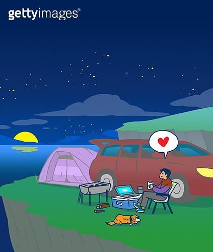 차박 캠핑