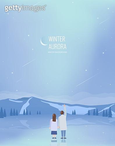 겨울 일러스트