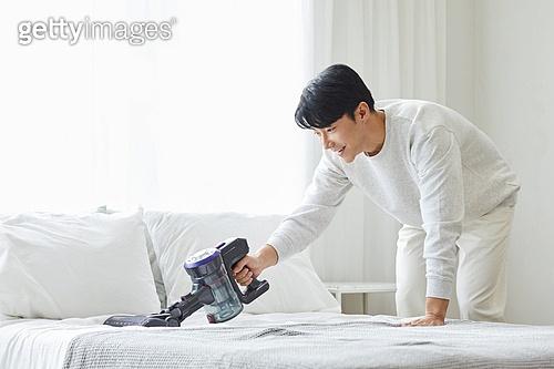 침실 청소
