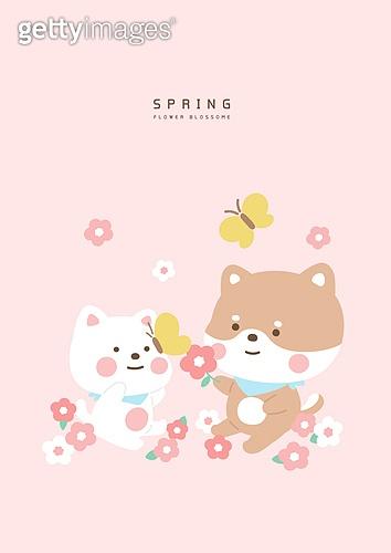 봄날의 캐릭터
