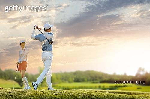 골프에 빠진 2030