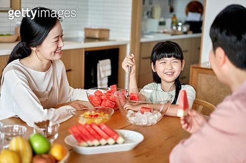 우리 가족, 과일 사랑