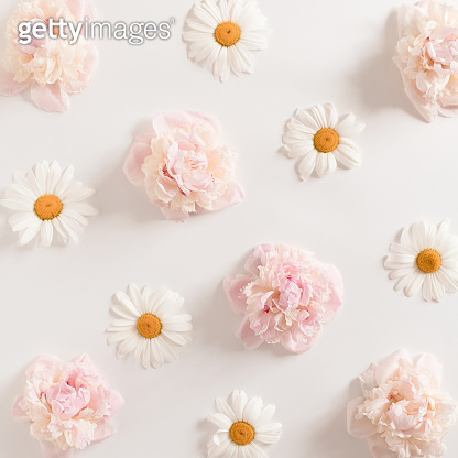 Pattern made of flowers