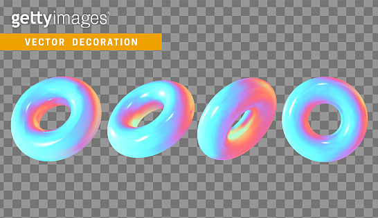 Holographic 3d shapes