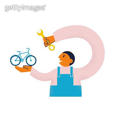 자전거 수리 서비스