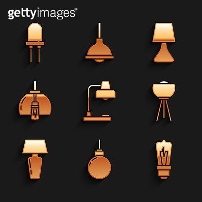 Orange gradation icons