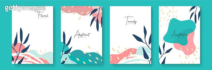 꽃 디자인 템플릿