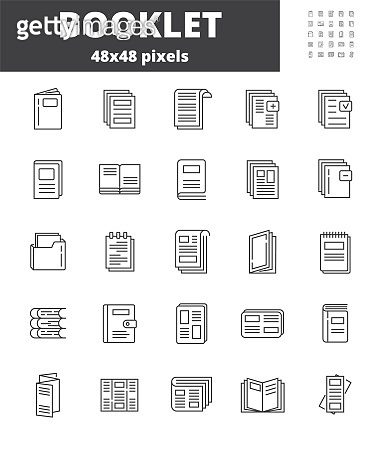 Booklet page icon