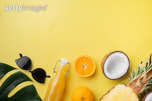 열대 과일 컨셉컷