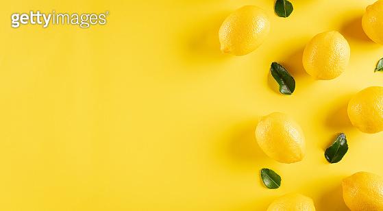 레몬 미니멀 백그라운드