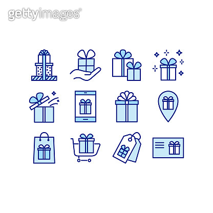 Blue point icons