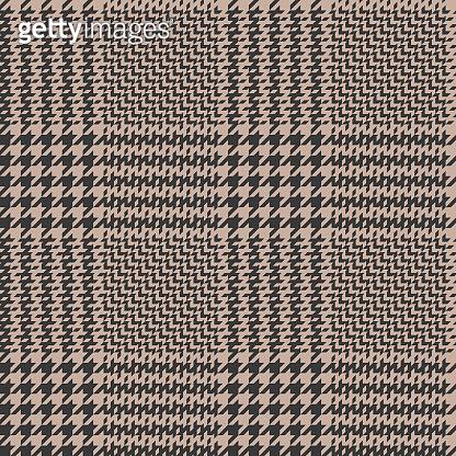 겨울 체크 패턴