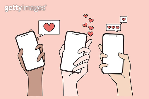 스마트폰 유저들