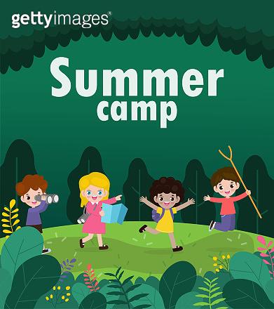 어린이 여름 캠프