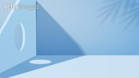 시원한 블루 3D 배경