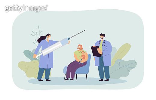 의료관련 일러스트