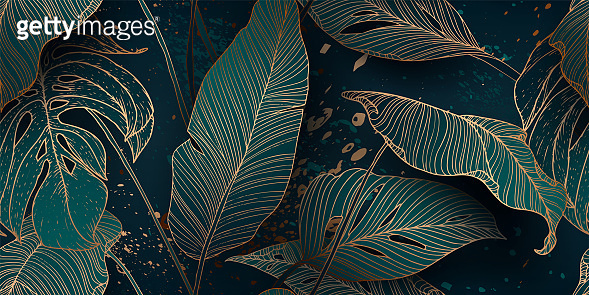 Palm leaves backgrounds