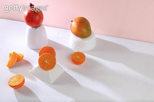Citrus juice layout