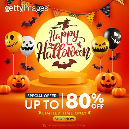 Halloween Sale Promotion