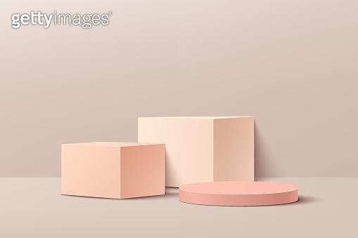 3D vector abstract studio