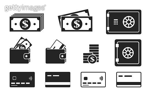돈 관련 아이콘