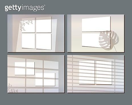 window shadow mockups