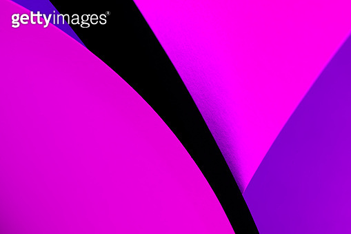 Colorful background made of paper
